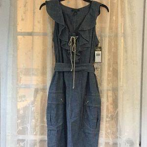 NWT Ralph Lauren Denim sailor theme dress